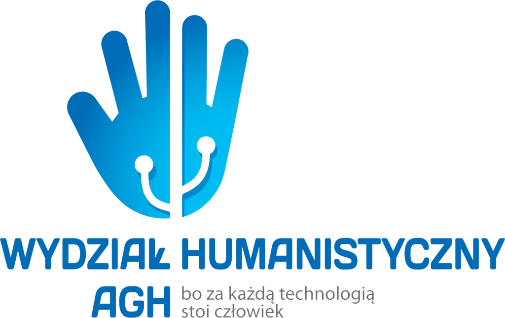 Logo Wydziału Humanistycznego AGH organizatora konferencji